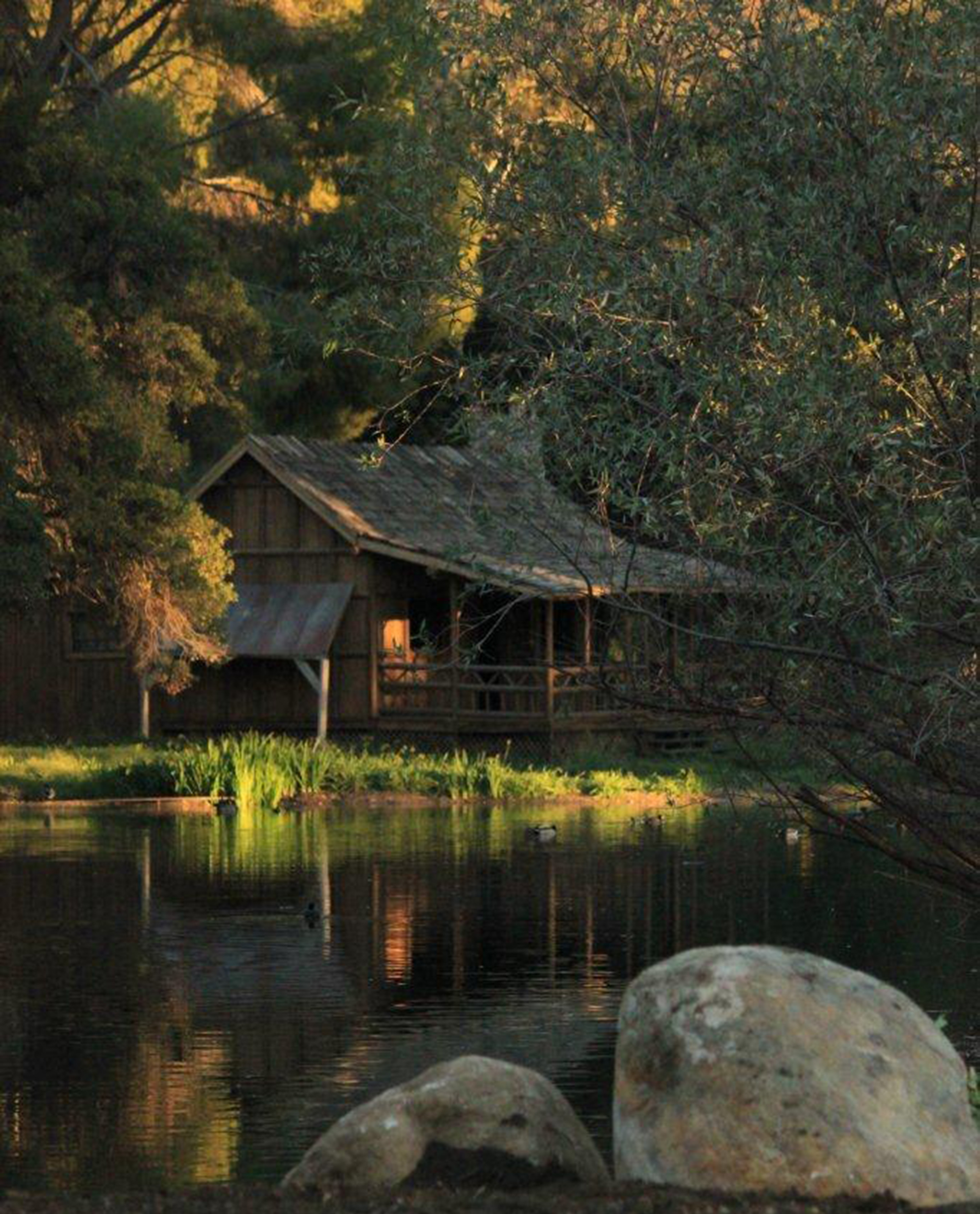 Cabin On The Lake Golden Oak Ranch A Movie Ranch Like