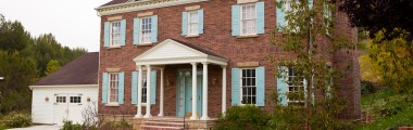Red Brick - Federal Style - Shutters
